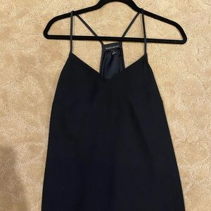 Black camisole flowy tank top